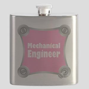 Pink Screw Loose Flask