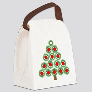 Mechanical Christmas Tree Canvas Lunch Bag