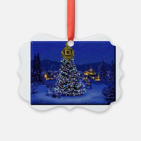 Dominguez High Christmas Ornament