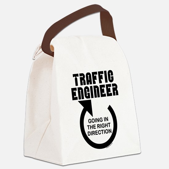 Traffic Engineer Direction Canvas Lunch Bag