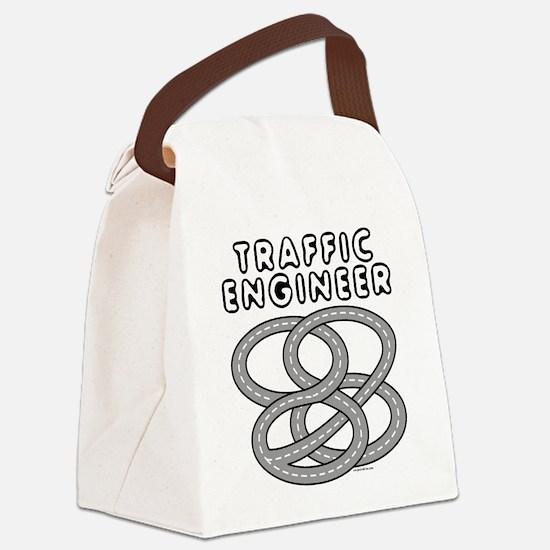 Traffic Engineer Interchange Canvas Lunch Bag