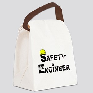 Safety Engineer Canvas Lunch Bag