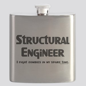 Structural Zombie Fighter Flask