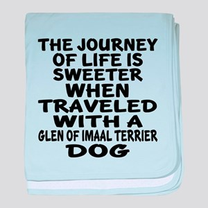 Traveled With Glen Of Imaal Terier Do baby blanket