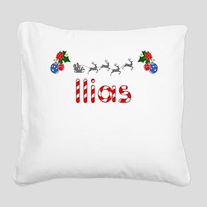 Ilias, Christmas Square Canvas Pillow