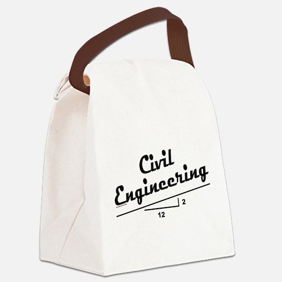Civil Slope Canvas Lunch Bag
