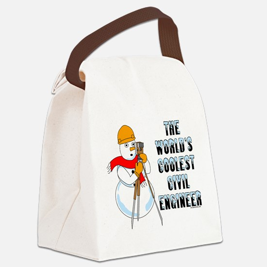 Coolest Civil Engineer Canvas Lunch Bag
