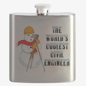 Coolest Civil Engineer Flask