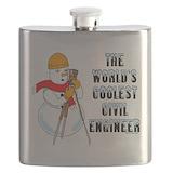 Civil engineer Flask Bottles