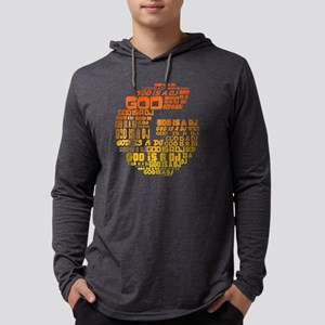 God Is A DJ Mens Hooded Shirt