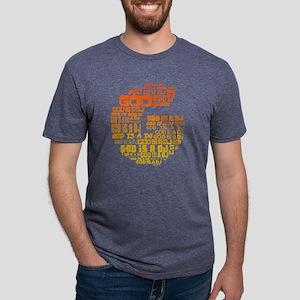 God Is A DJ Mens Tri-blend T-Shirt