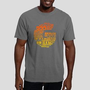 God Is A DJ Mens Comfort Colors Shirt