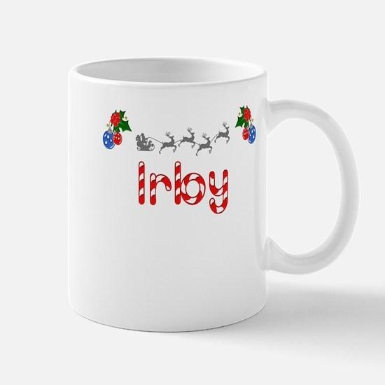 Irby, Christmas Mug