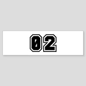 SPORTS JERSEY 02 Bumper Sticker