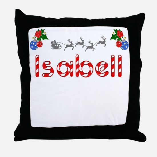 Isabell, Christmas Throw Pillow