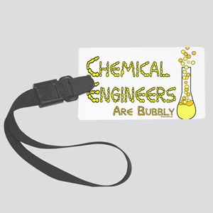Chemical Engineers Large Luggage Tag
