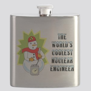 Coolest Nuclear Engineer Flask