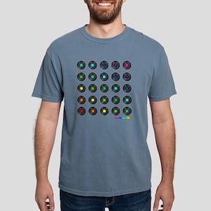 Vinyl Record Wall Art Mens Comfort Colors Shirt