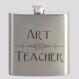 Art Teacher Line Flask