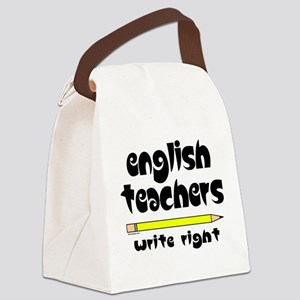 Write Right Canvas Lunch Bag