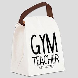 Gym Teacher Canvas Lunch Bag
