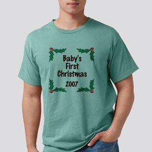 first throw holly Mens Comfort Colors Shirt
