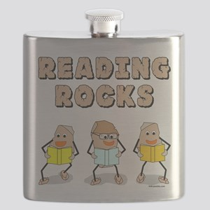 Reading Rocks Flask
