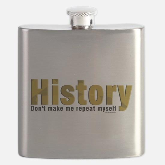 Funny Archeology Flask