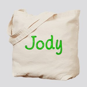 Jody Glitter Gel Tote Bag