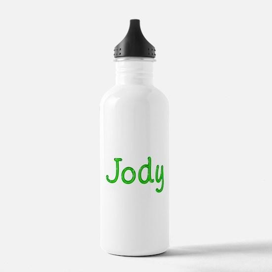 Jody Glitter Gel Water Bottle