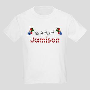 Jamison, Christmas Kids Light T-Shirt