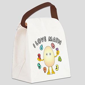 Love Math Canvas Lunch Bag
