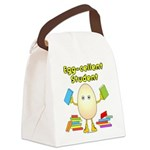 Egg-cellent Student Canvas Lunch Bag