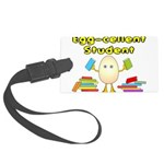 Egg-cellent Student Large Luggage Tag