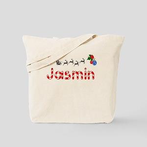Jasmin, Christmas Tote Bag