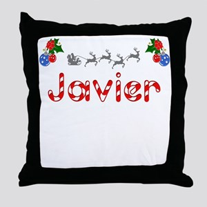 Javier, Christmas Throw Pillow