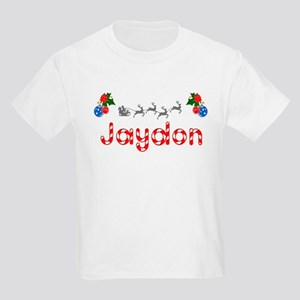 Jaydon, Christmas Kids Light T-Shirt