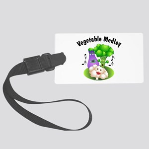 Vegetable Medley Large Luggage Tag