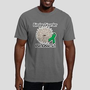 Bipolar Disorder Blows A Mens Comfort Colors Shirt