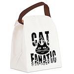 Cat Fanatic Canvas Lunch Bag