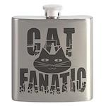 Cat Fanatic Flask