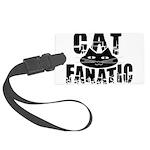 Cat Fanatic Large Luggage Tag