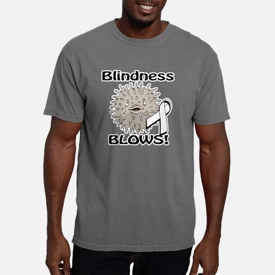 Blindness Blows Awarenes Mens Comfort Colors Shirt