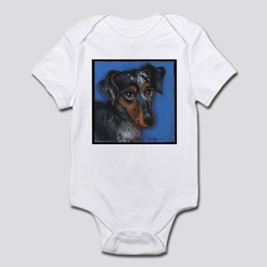 Dachshund Brindle Infant Bodysuit