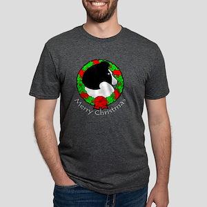 bi-blackxmas Mens Tri-blend T-Shirt
