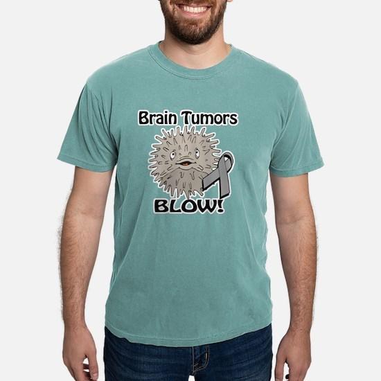 Brain Tumors Blow Awaren Mens Comfort Colors Shirt