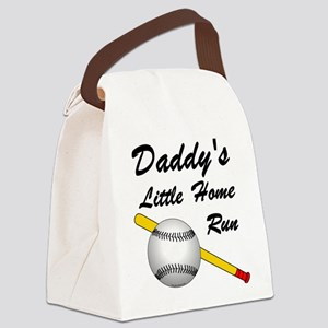 Dad's Home Run Canvas Lunch Bag