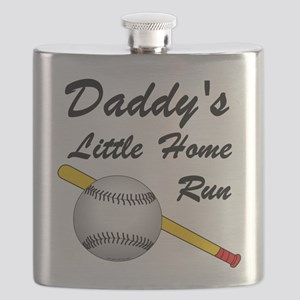 Dad's Home Run Flask