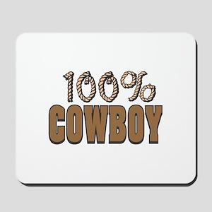 100% Cowboy Mousepad