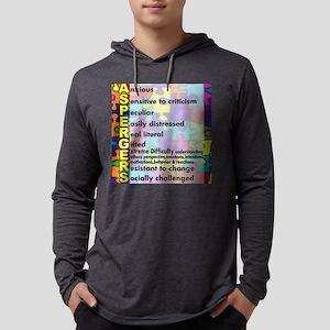 aspergers traits 3 copy Mens Hooded Shirt